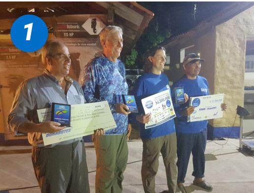 Resultados 19 Torneo Nacional de Pesca Deportiva
